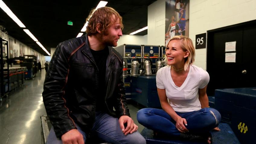 Renee Young reveals Jon Moxle's story of their first interaction