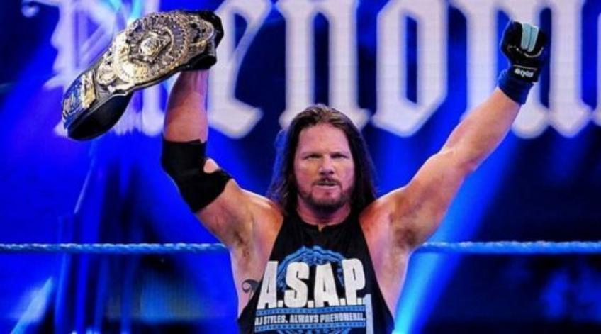 AJ Styles talks about his initial run with WWE
