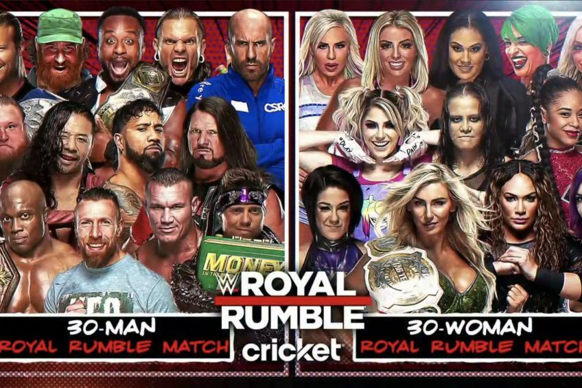 Latest update on 2021 Royal Rumble card