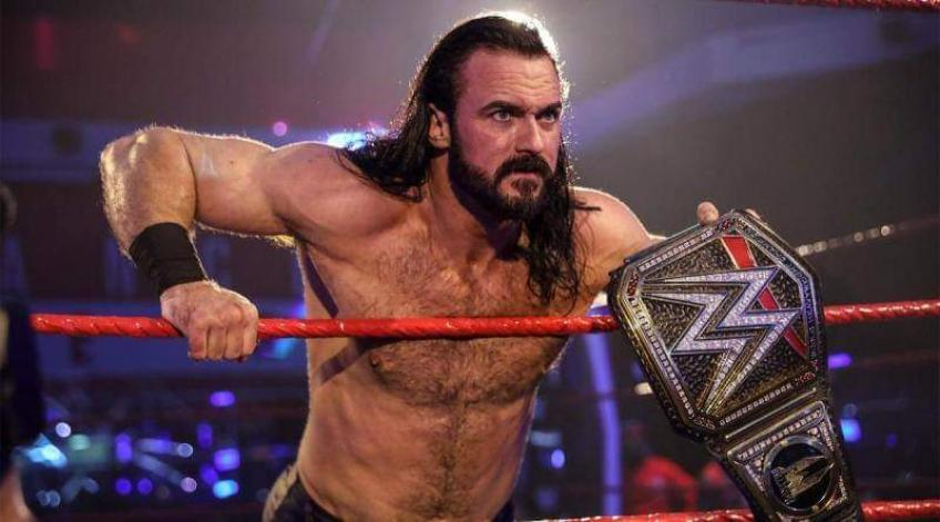Drew McIntyre comments on his WWE return