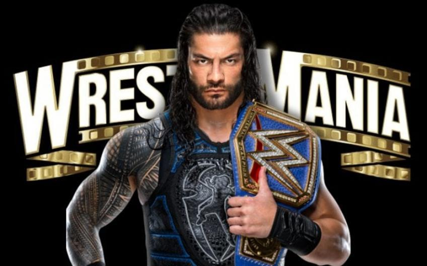 Only one match has been finalized for WWE WrestleMania 37 so far