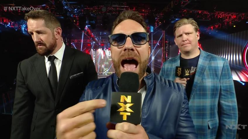 Triple H reacts to awkward table botch at NXT TakeOver
