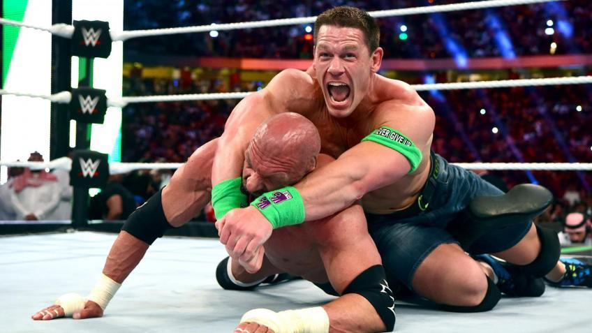 John Cena received heat from some Superstars for using the STF