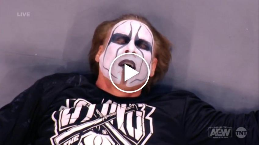 Update on Sting after Powerbomb spot on AEW