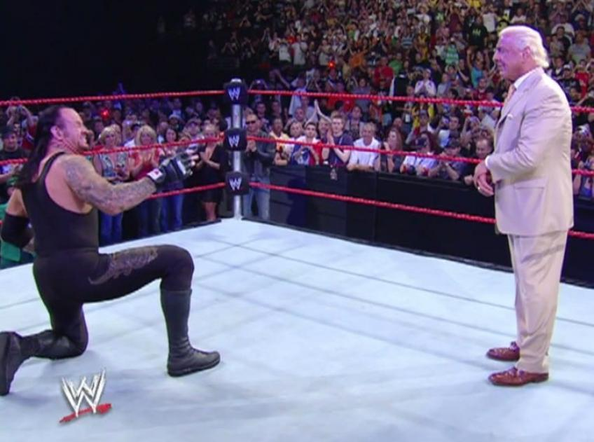 Ric Flair reveals the text The Undertaker sent him after his Final Farewell