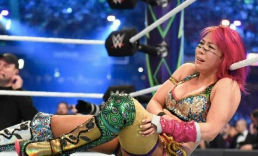 Asuka possibly out with a concussion