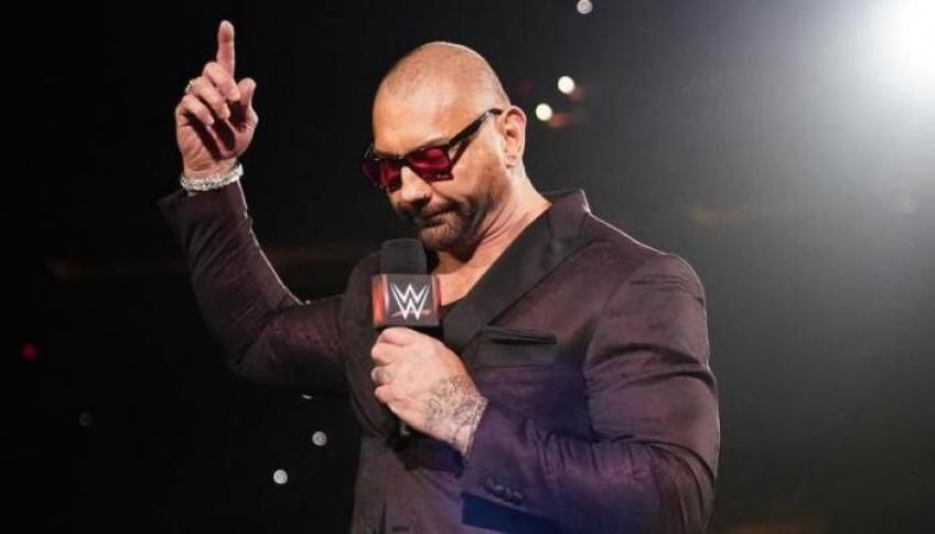 Batista reacts to suggestion that he's appearing at AEW Revolution