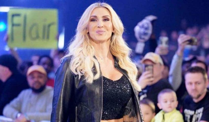 Charlotte Flair removed from WrestleMania 37 graphics