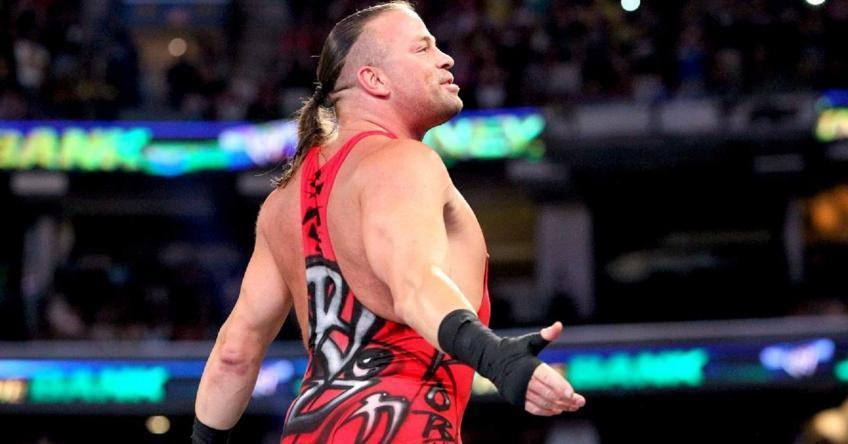 Rob Van Dam says he did not want to have a romantic angle with...
