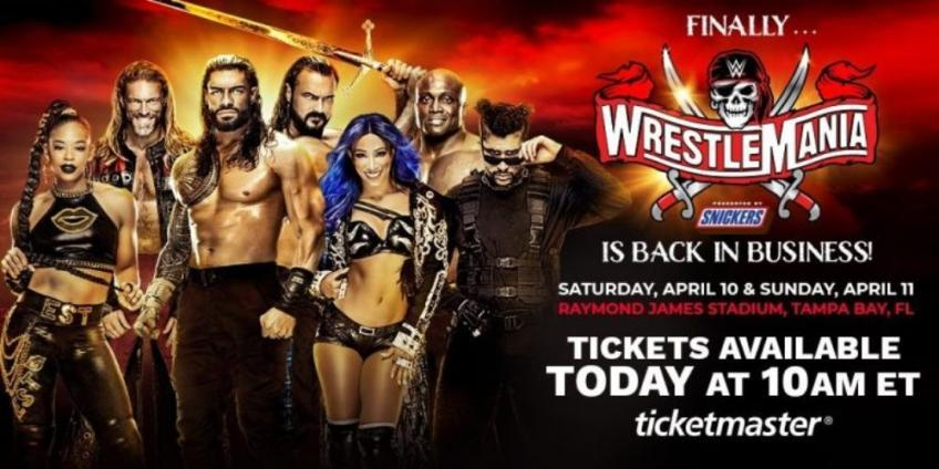 Reason why WWE changed WrestleMania 37 main event plans