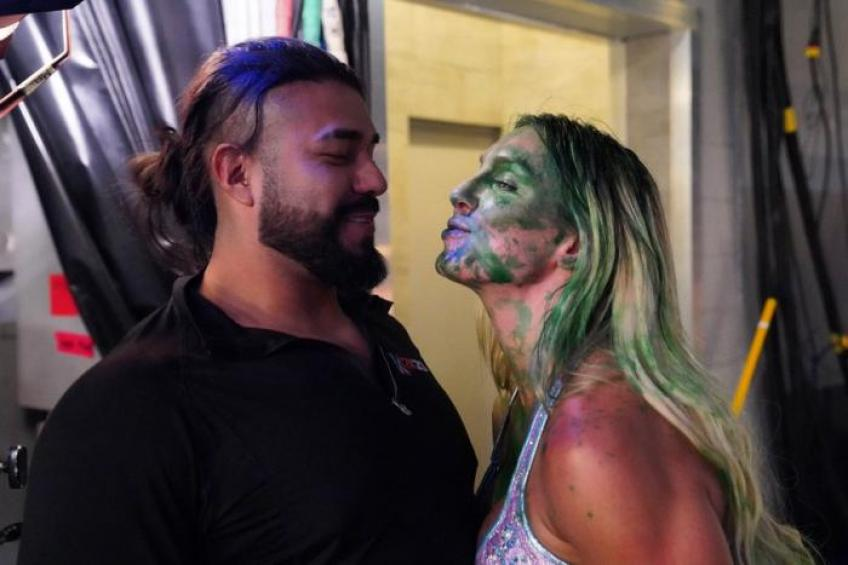 Charlotte Flair on Andrade's WWE release