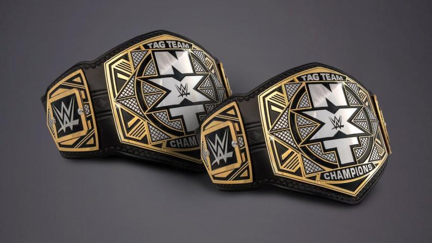 William Regal vacates NXT's Tag Team Championship