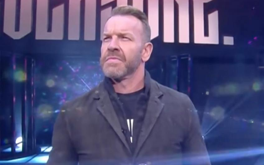 Former WWE referee comments on AEW signing Christian