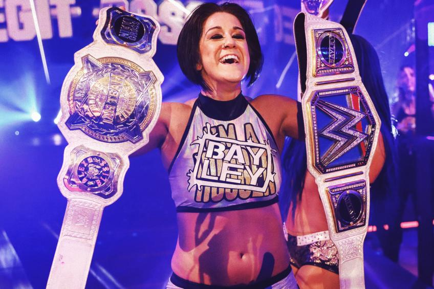 Bayley on Keeping in Touch with AJ Lee