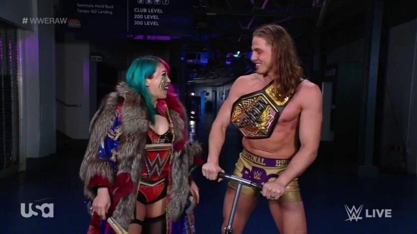 What Riddle was supposed to say to Asuka last week on Raw