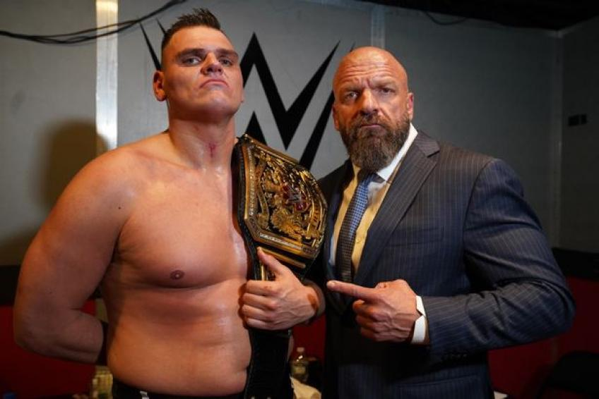WWE had to change plans for WALTER NXT match