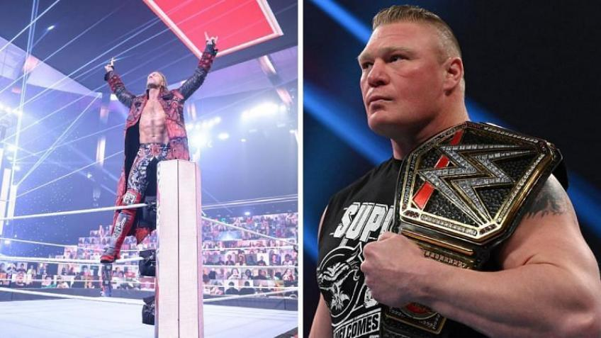 Details on possible Edge and Brock Lesnar storyline that WWE dropped