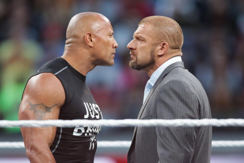 Bret Hart reveals an interesting story about Triple H and The Rock
