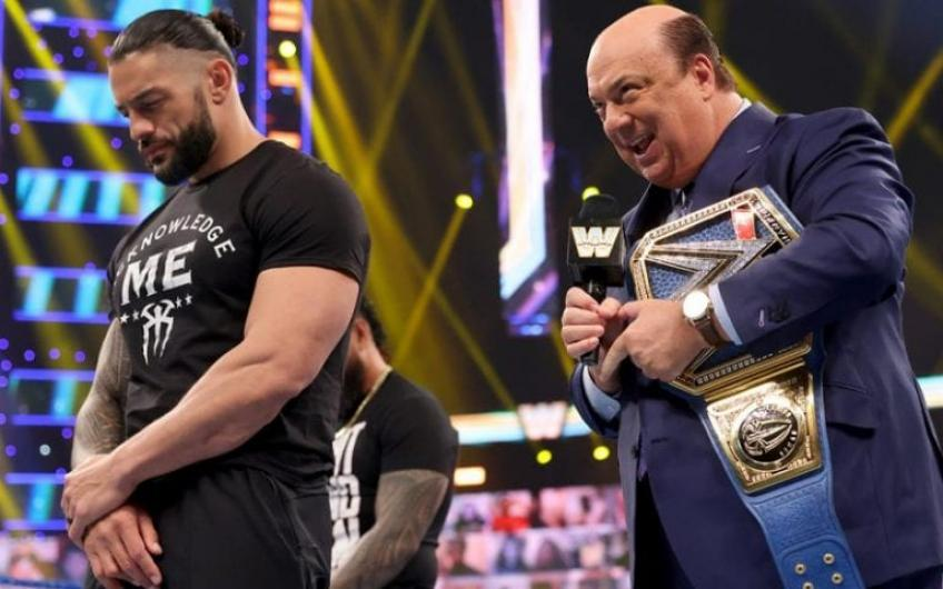 Did Paul Heyman completely invent an angle on Smackdown?