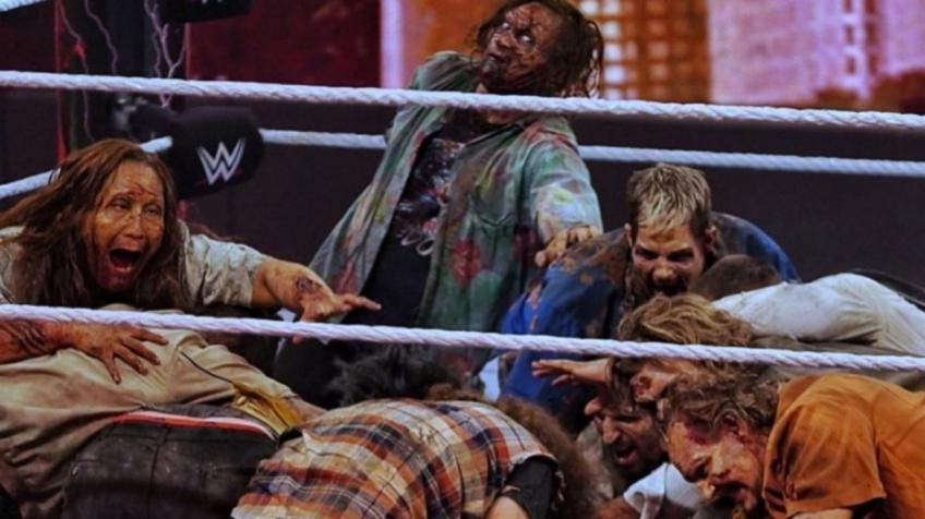 *Spoiler* Zombies made an appearance at WrestleMania Backlash