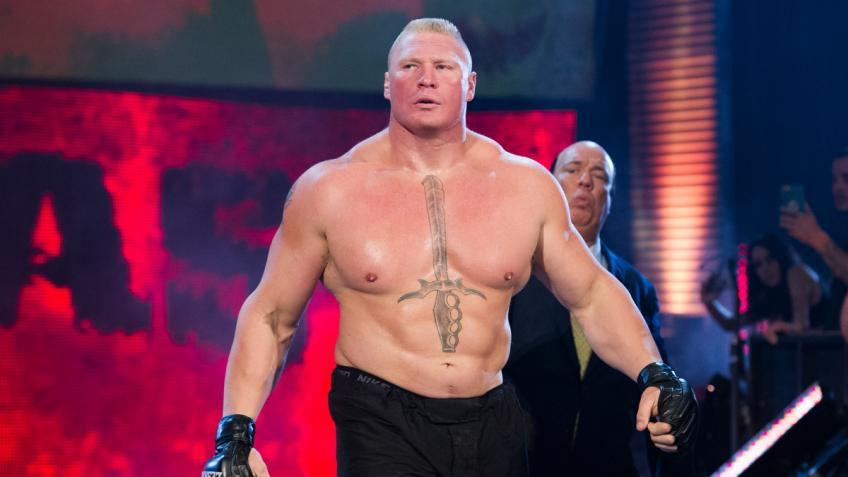Jim Ross talks about Brock Lesnar's first meeting with Vince McMahon