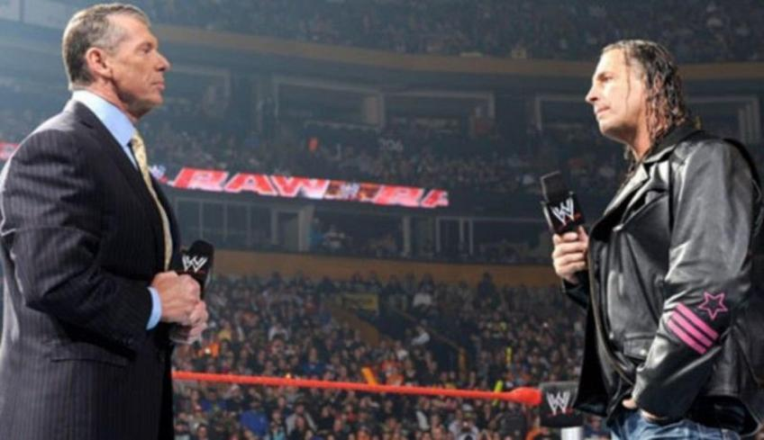 Eric Bischoff comments on his relationship with Bret Hart