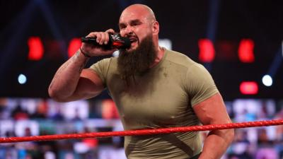 """Braun Strowman talks about his """"punch"""" directed at Brock Lesnar"""