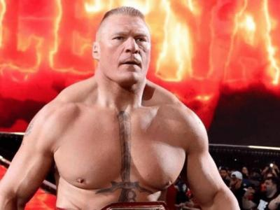 Brock Lesnar immortalized with a new look