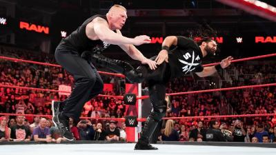Seth Rollins comments on facing Brock Lesnar at WrestleMania 35