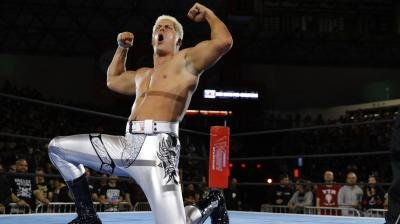 Cody Rhodes in Action at Fyter Feast