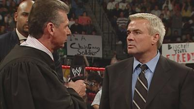 Eric Bischoff describes the first meeting with Vince McMahon