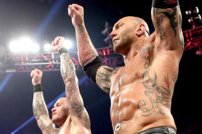 Randy Orton discusses Batista's WWE Hall of Fame announcement