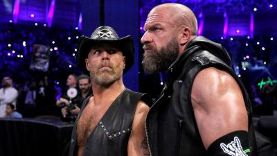 Triple H discusses Shawn Michaels' involvement with NXT UK