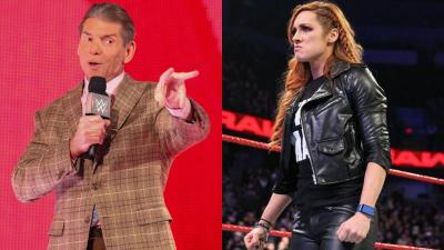 How did Vince McMahon and WWE take Becky Lynch's pregnancy news