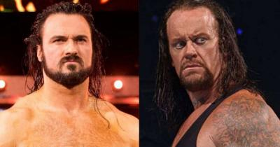 Drew McIntyre: The Undertaker and I were to have a match at WrestleMania 26