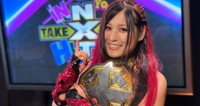 In sensational ending, Io Shirai wins 1st WWE title