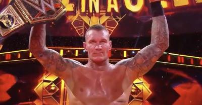 *Spoiler* Randy Orton becomes WWE World Champion for the record 14th time