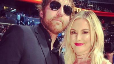 Jon Moxley and wife Renee Young expecting their first child