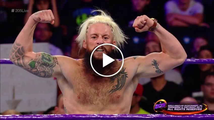 Enzo Amore In-Ring Return Video