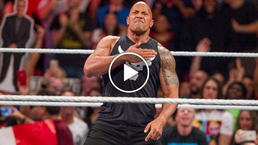 The Rock comments on the facts of Capitol Hill and publishes a video